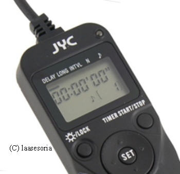 Timer Remote Controller for Pentax K100D/Samsung GX-1X/Canon EOS
